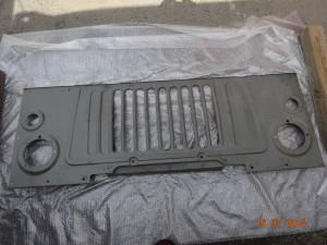 Облицовка радиатора ГАЗ-66 (66-8401110) Цена 2000т.р
